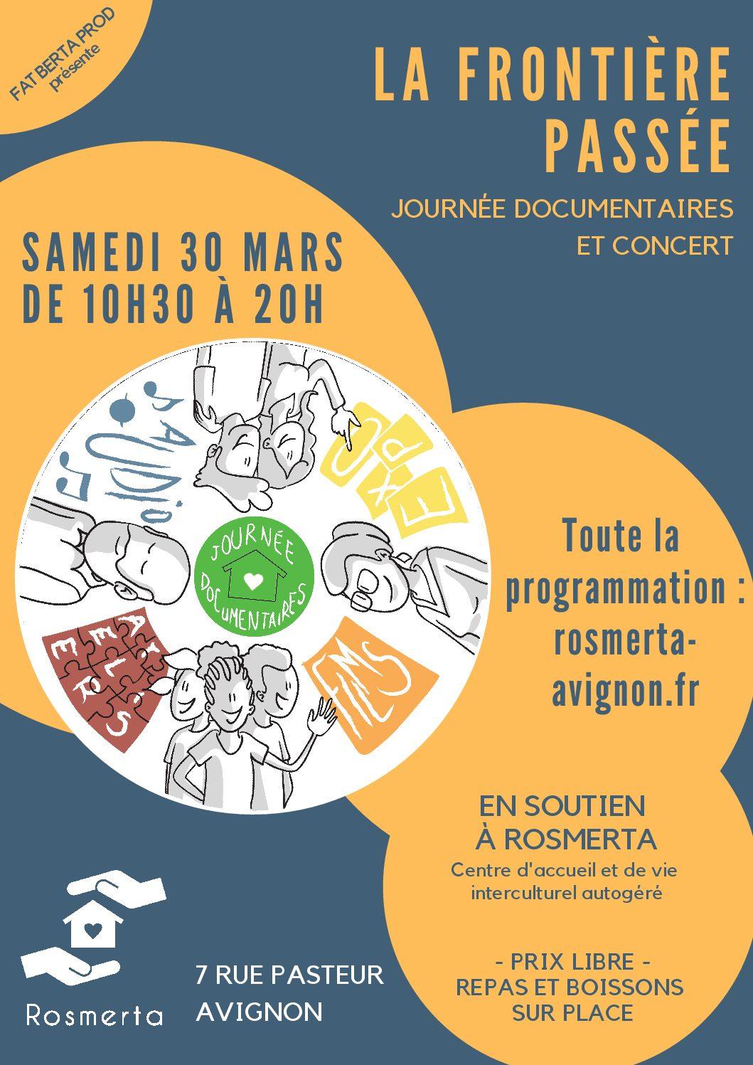«La Frontière passée» Journée documentaires 30/03/19